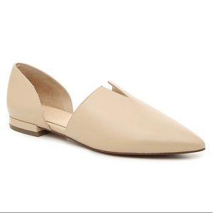 DOLCE VIDA Grace Leather Flats - Size 10M
